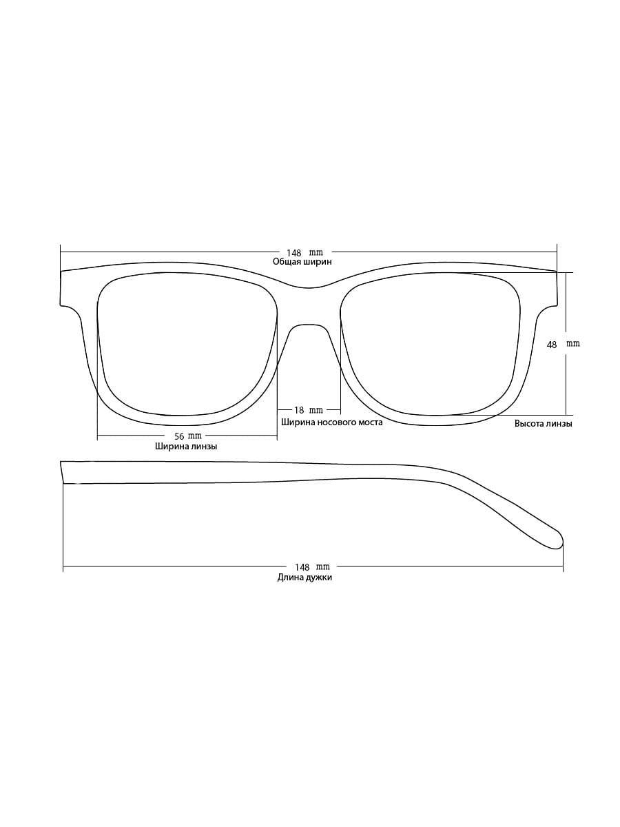 Солнцезащитные очки KAIZI 32033 C54
