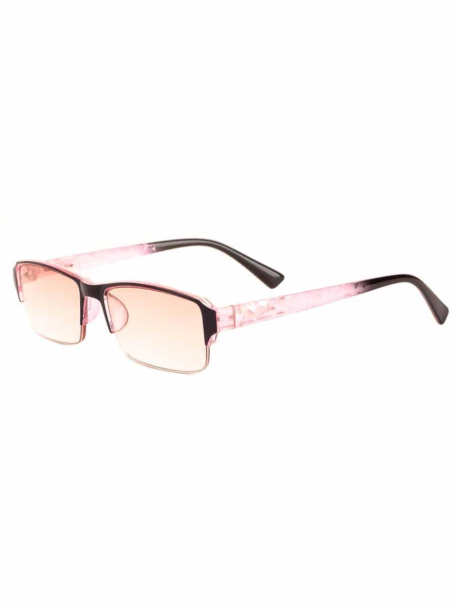 Готовые очки Восток 0056 Розовые Тонированные (-9.50)