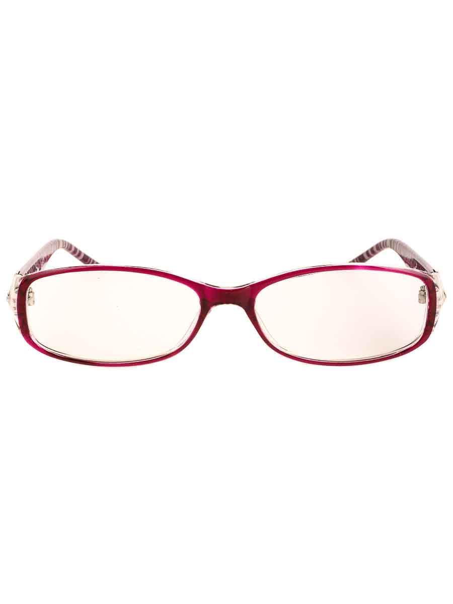 Готовые очки Восток 1312 Бордовые (-9.50)