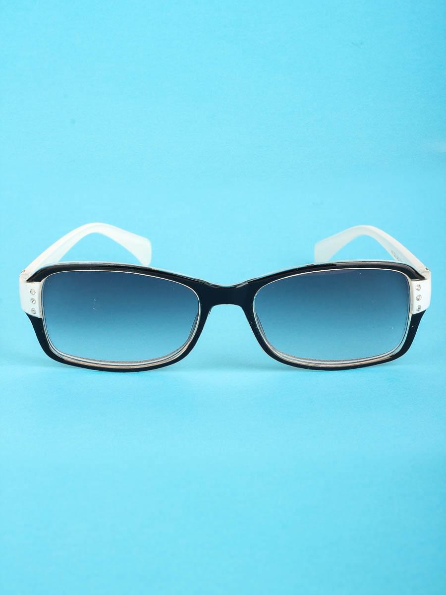 Готовые очки Восток 1320 Белые Тонированные (-9.50)
