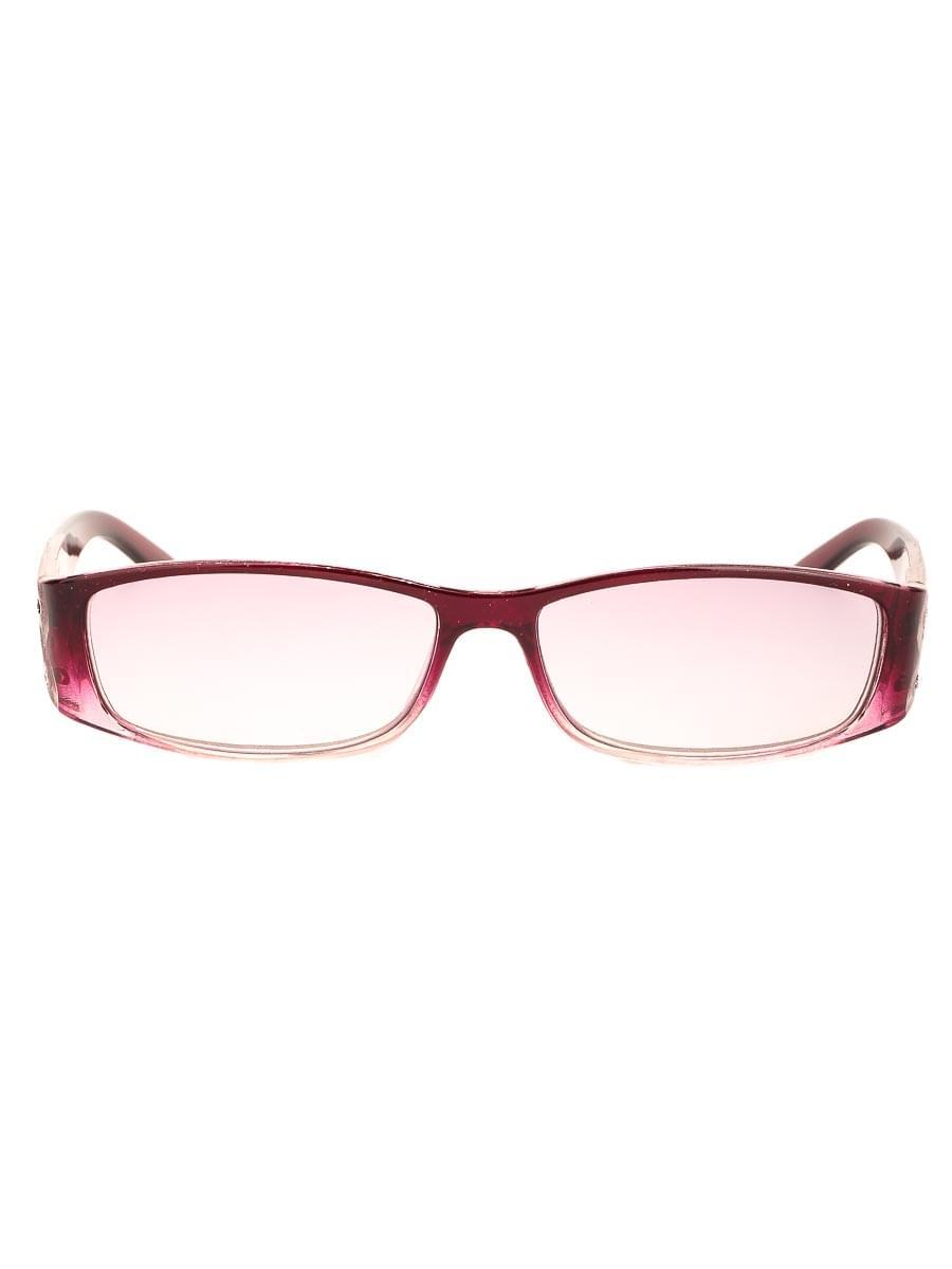 Готовые очки Восток 6614 Бордовые Тонированные