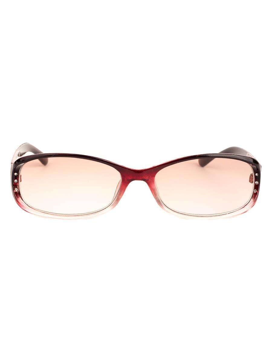Готовые очки Восток 6618 Бордовые Тонированные