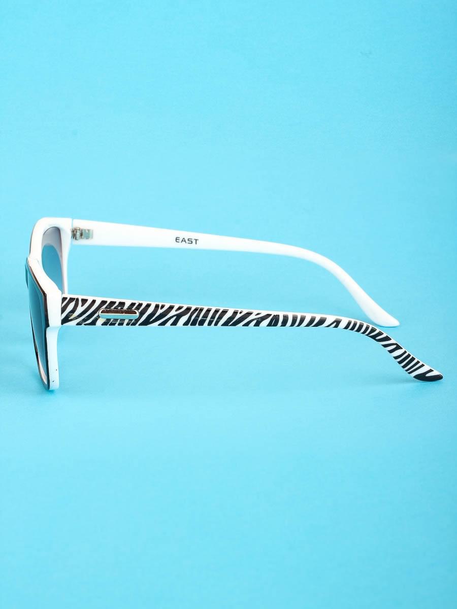 Готовые очки Восток 6620 Белые Тонированные