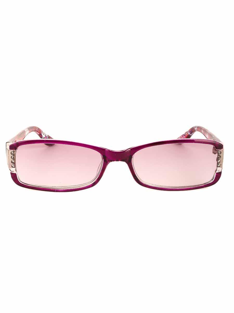 Готовые очки Восток 6622 Бордовые Тонированные