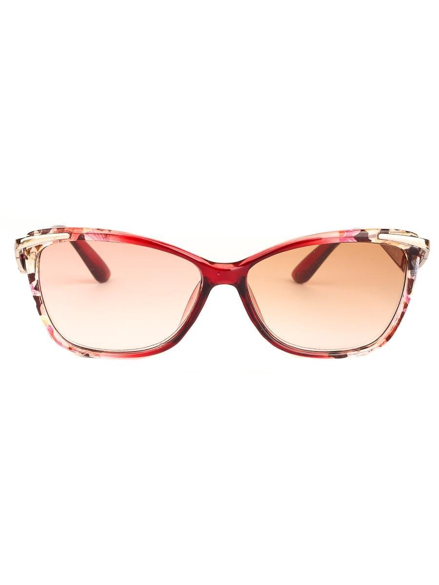 Готовые очки Восток 6631 Бордовые Тонированные