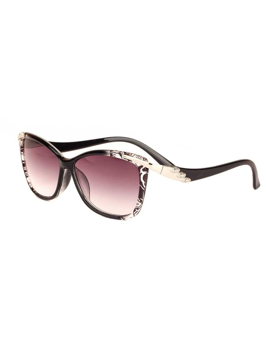 Готовые очки Восток 6631 Черные Тонированные