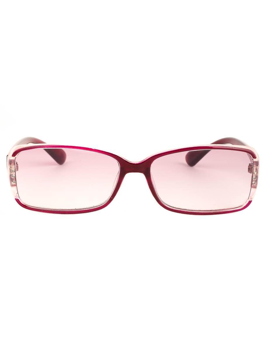 Готовые очки Восток 6632 Бордовые Тонированные