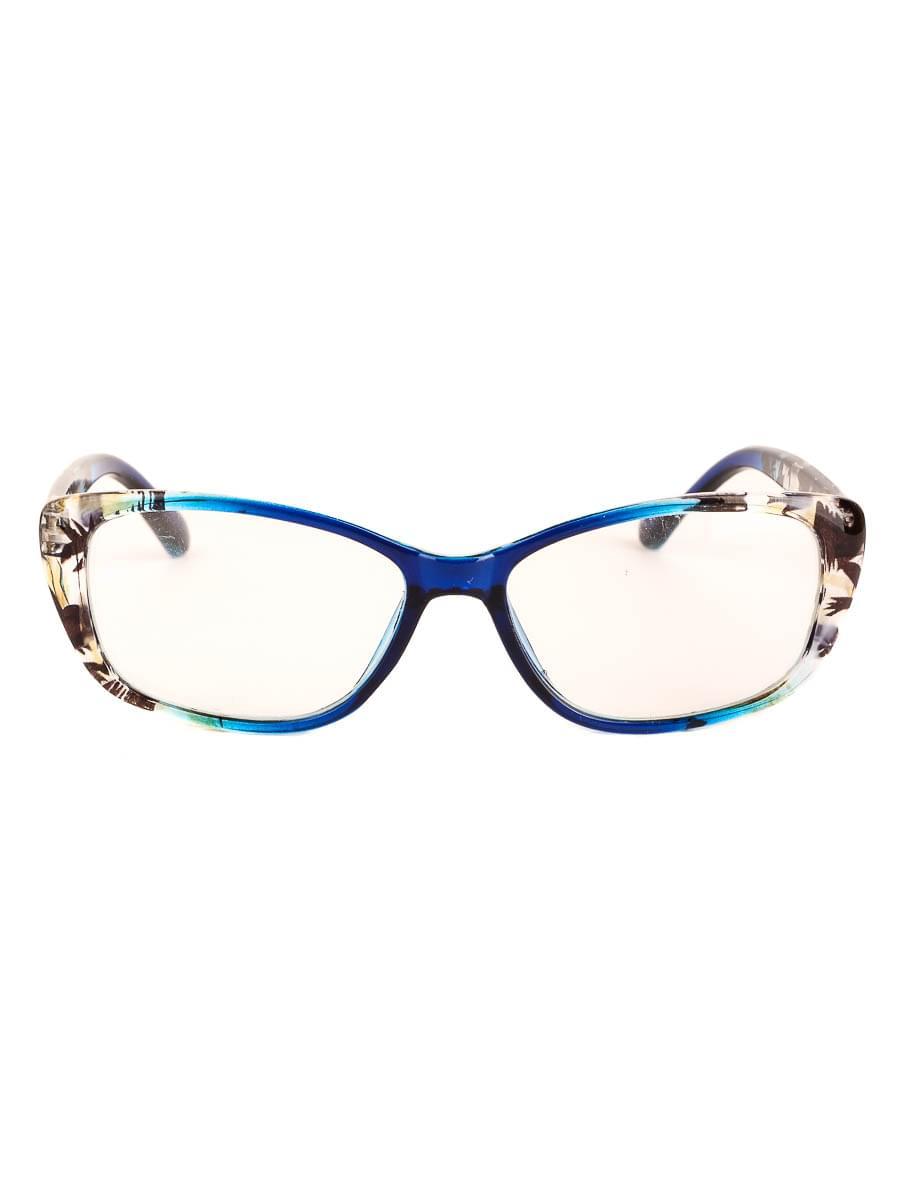 Готовые очки Восток 6637 Синие Стеклянные