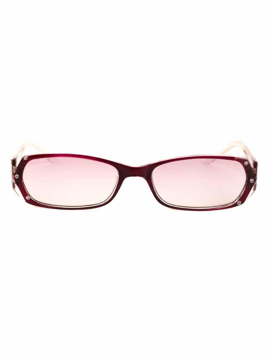 Готовые очки Восток 8852 Бордовые Тонированные