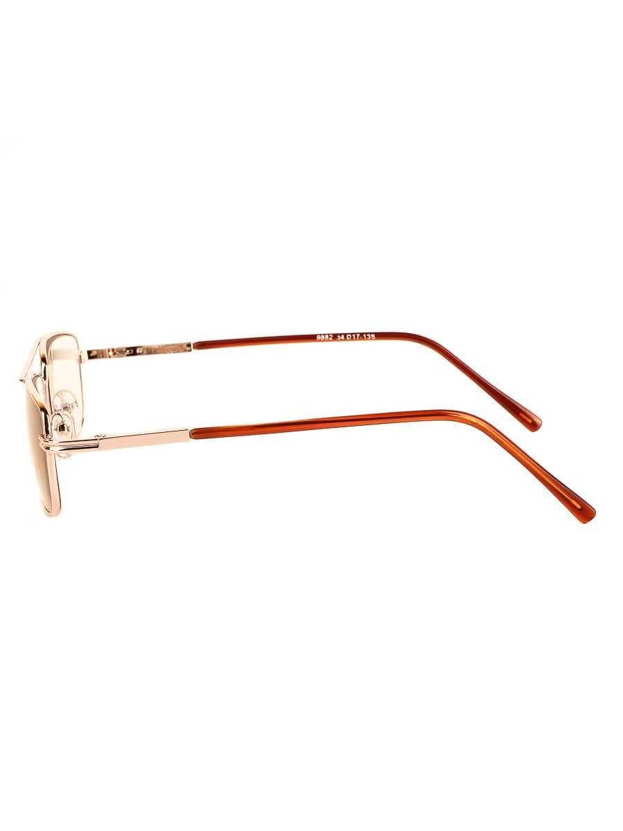 Готовые очки Восток 9882 Золотистые Фотохромные