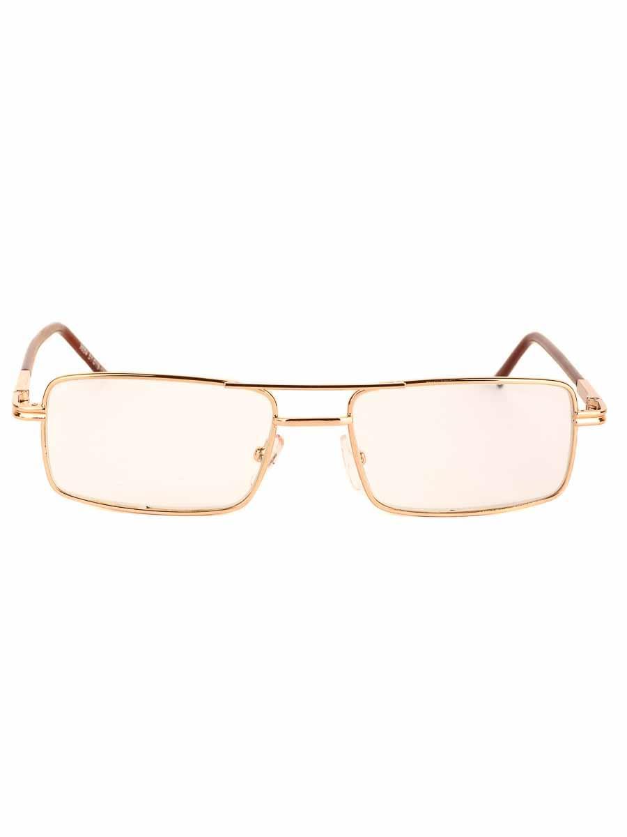 Готовые очки Восток 9884 Золотистые стеклянные