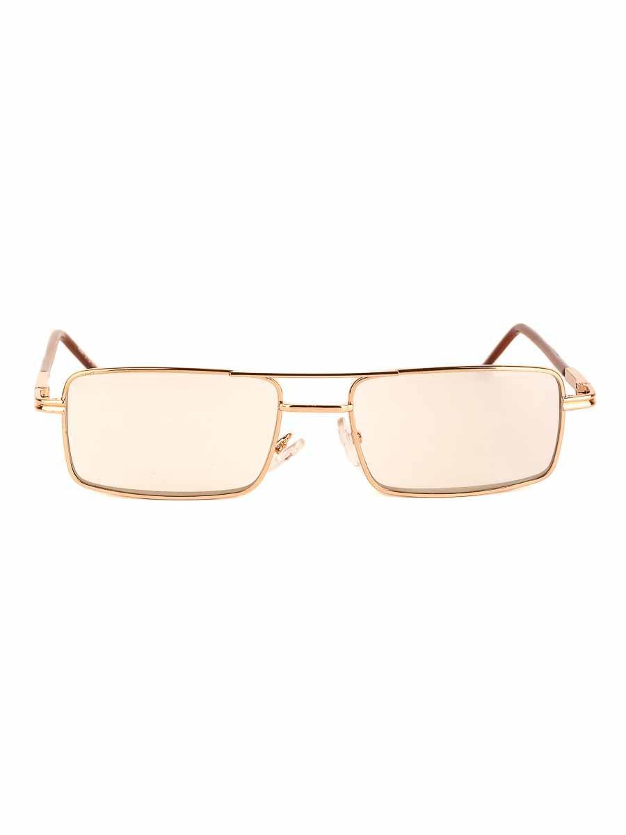 Готовые очки Восток 9884 Золотистые Фотохромные стеклянные