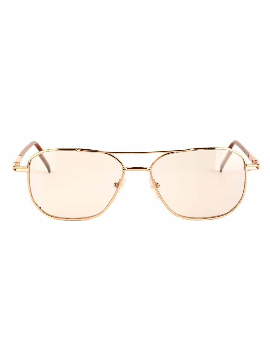 Готовые очки Восток 9886 Золотистые Фотохромные