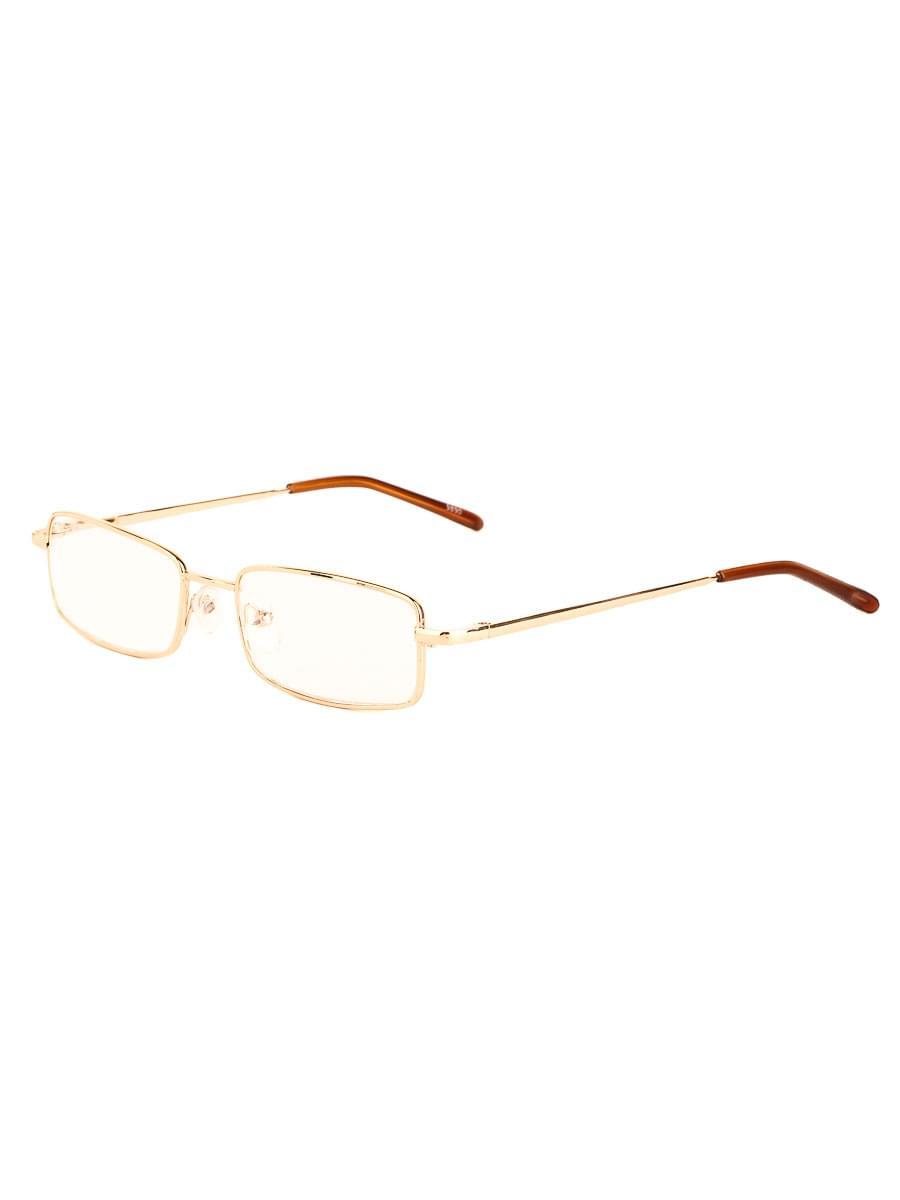 Готовые очки Восток 9890 Золотистые Стеклянные (Ручка широкая)