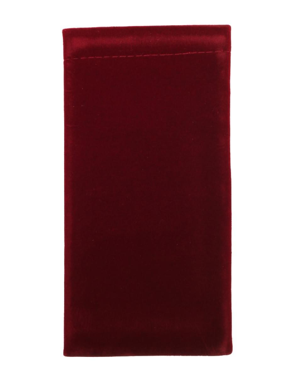 Мешочек для очков TAO 1 Темно-бордовый широкий
