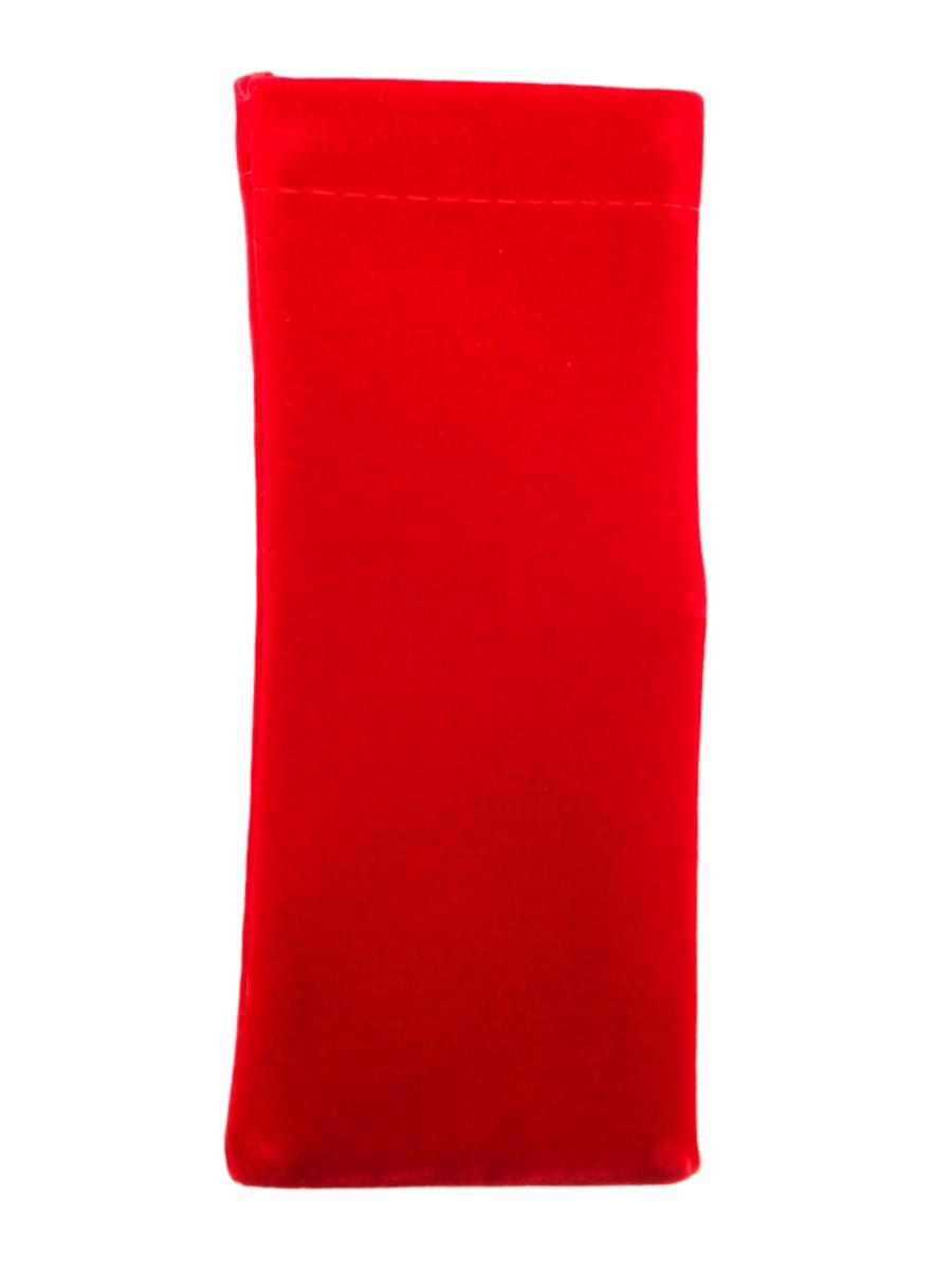 Мешочек для очков TAO 1 Красный узкий