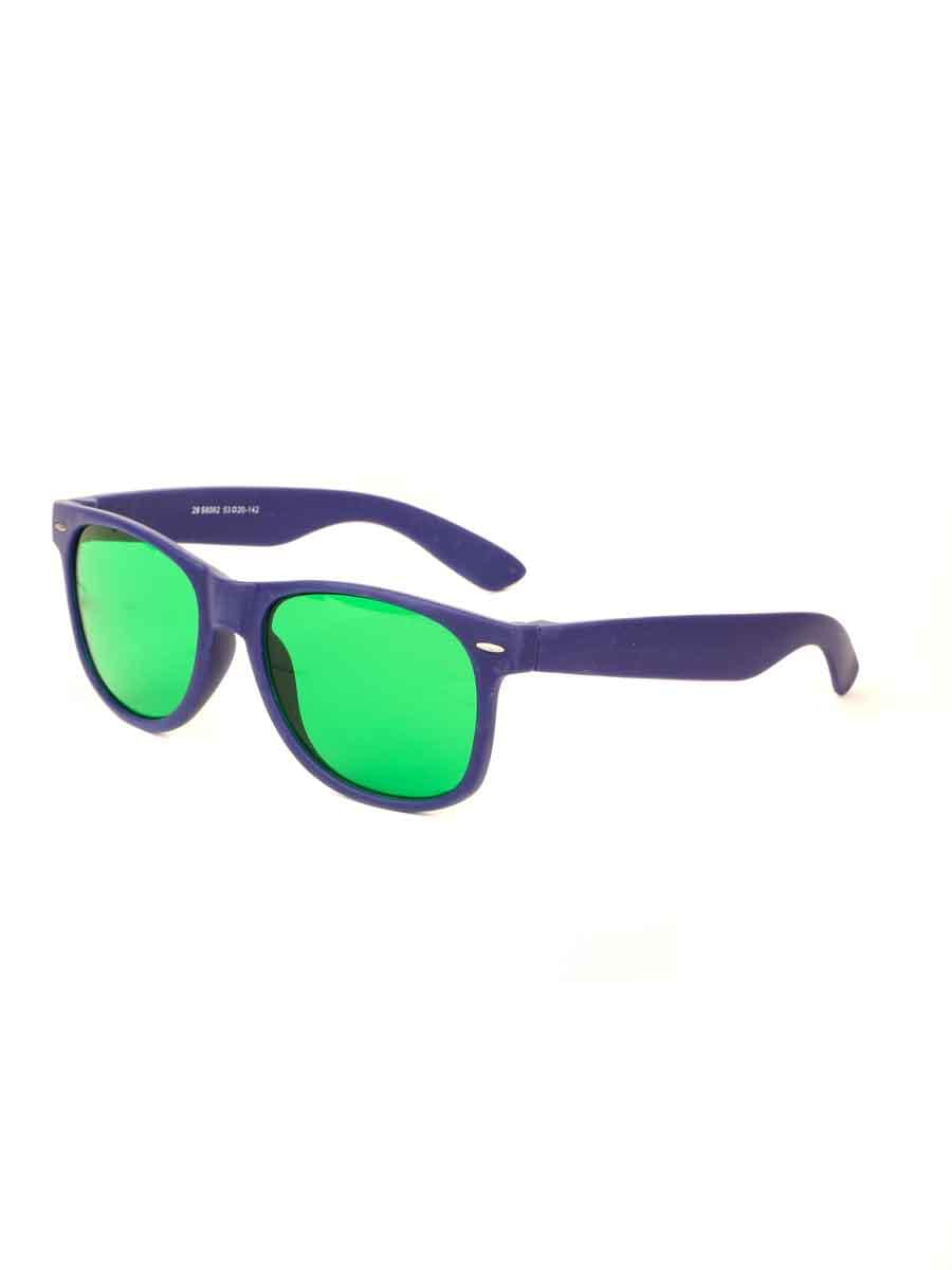 Очки глаукомные TAO 58082 Синие