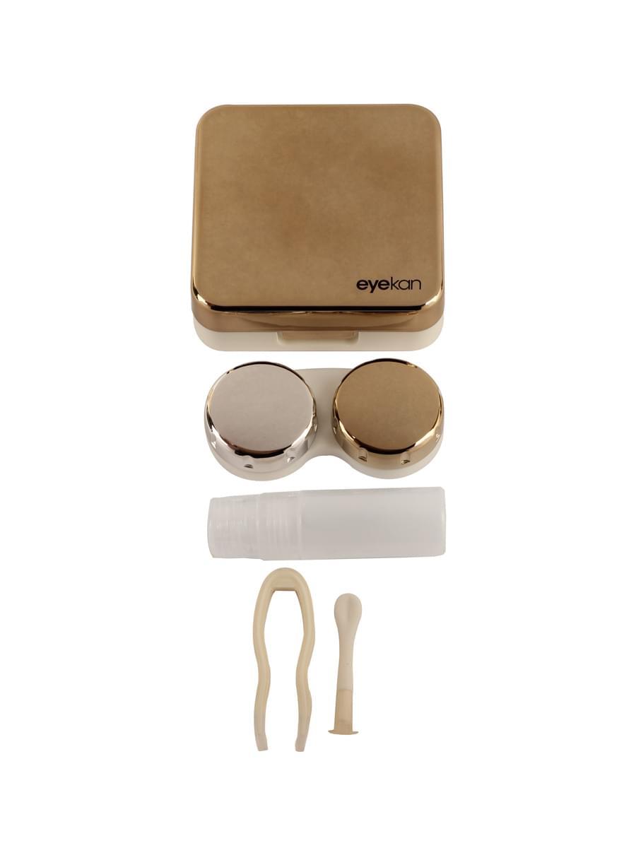 Контейнеры для контактных линз K1520 Золотистый