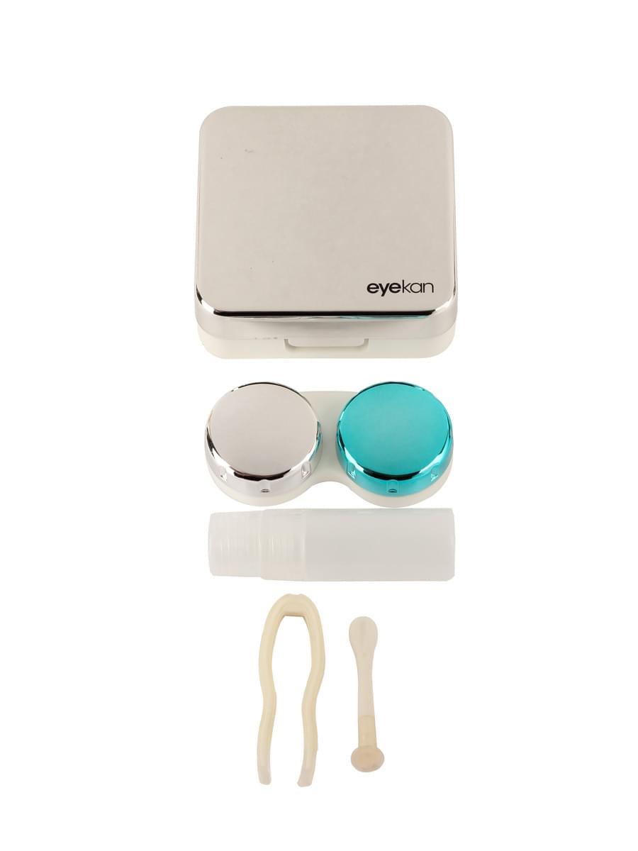Контейнеры для контактных линз K1520 Серебристый