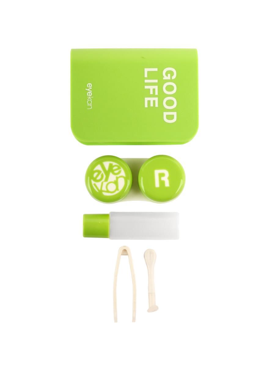 Контейнеры для контактных линз K1702 Зеленый