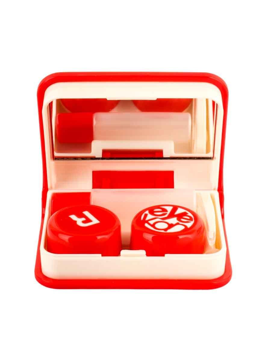 Контейнеры для контактных линз K1702 Красный