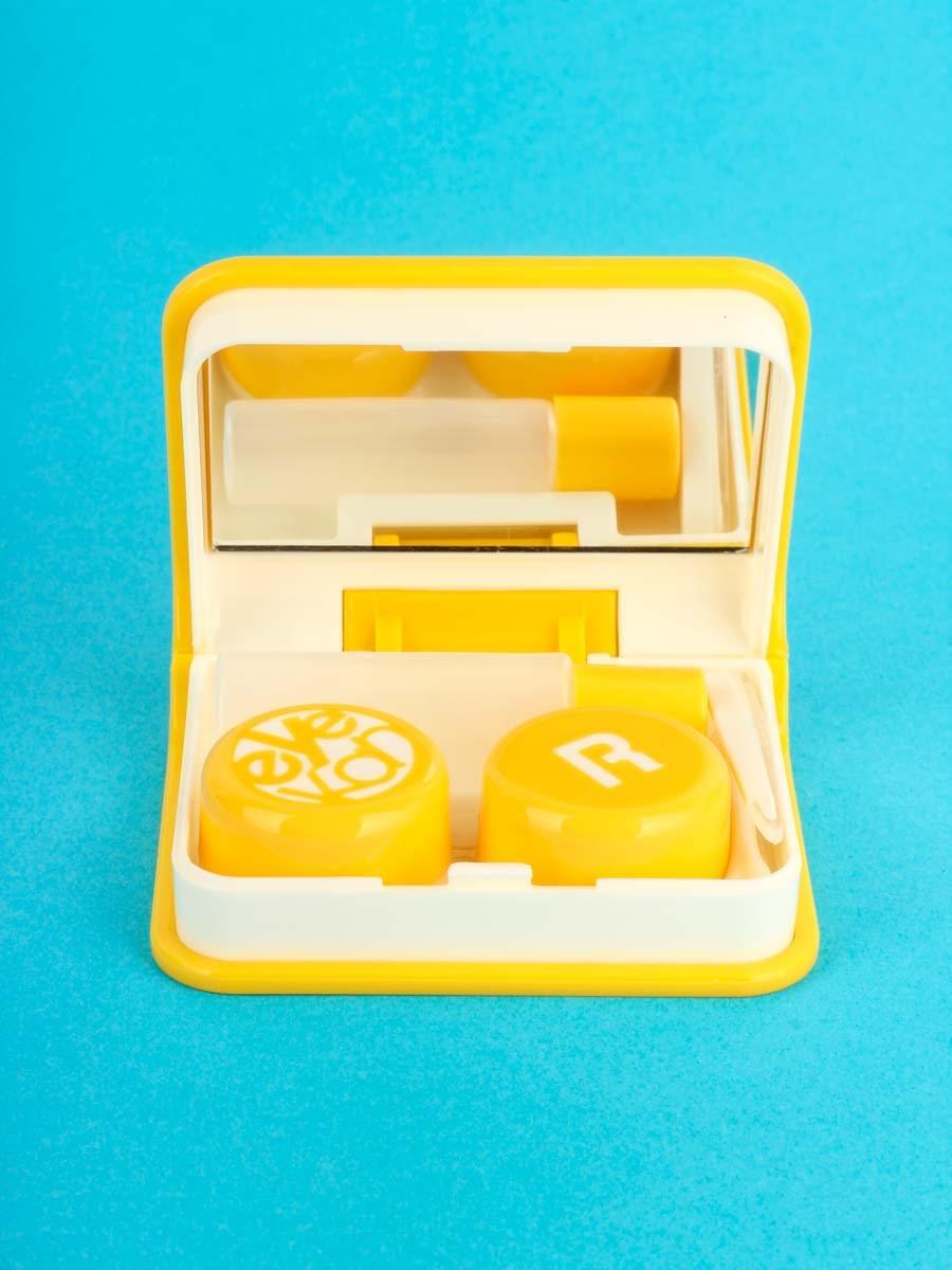 Контейнеры для контактных линз K1702 Желтый