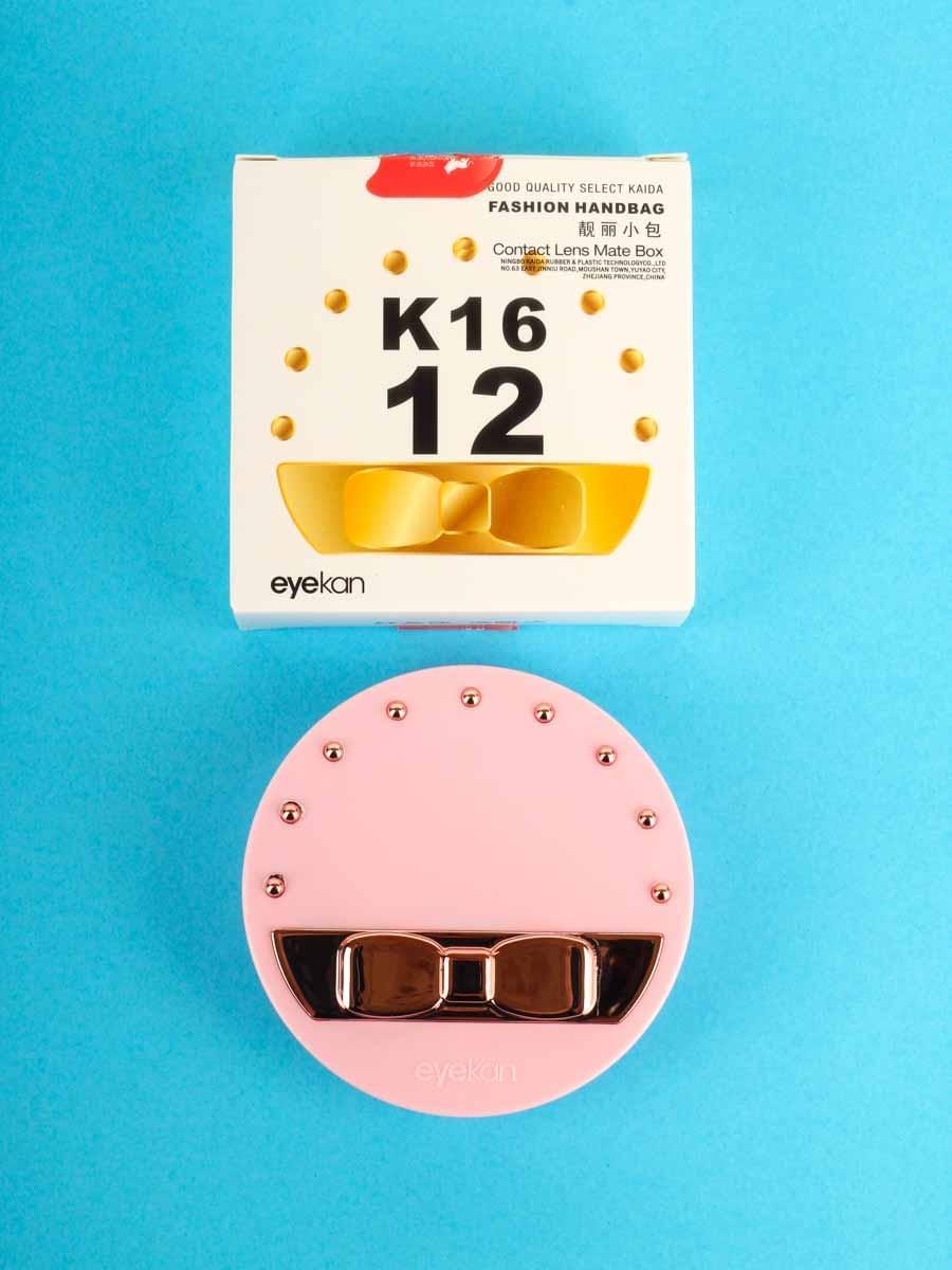 Контейнеры для контактных линз K1612 Розовые