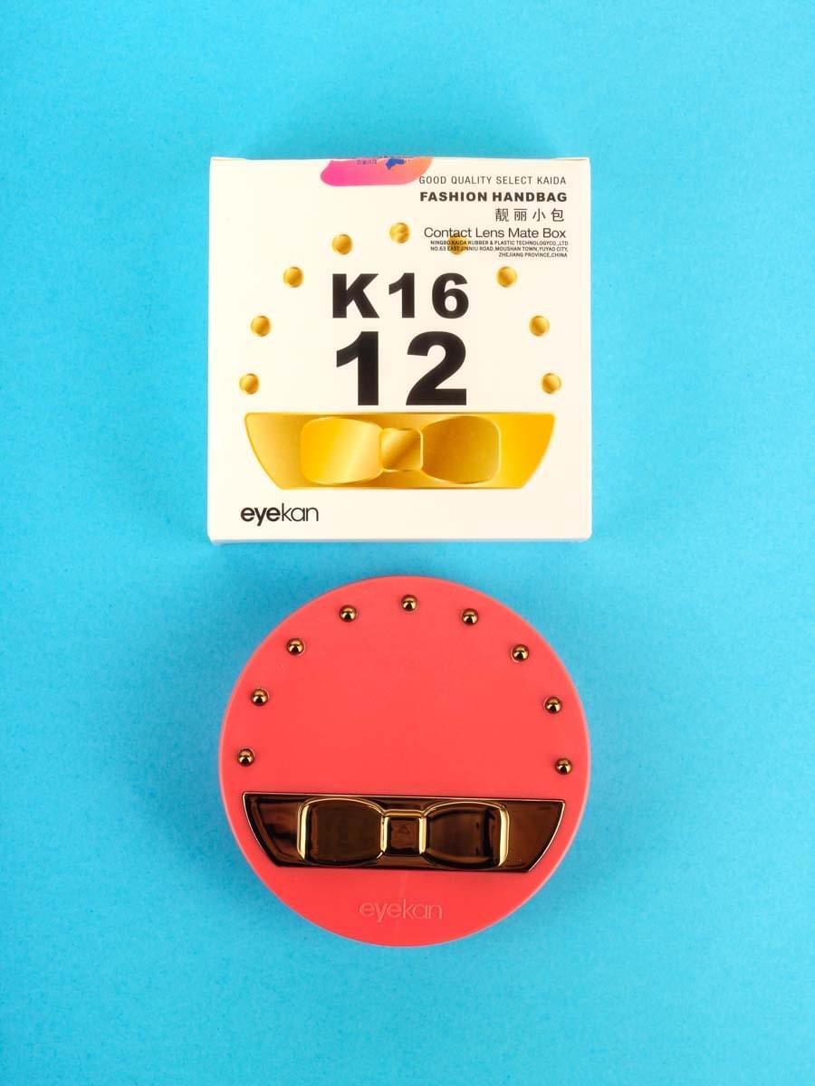 Контейнеры для контактных линз K1612 Красный