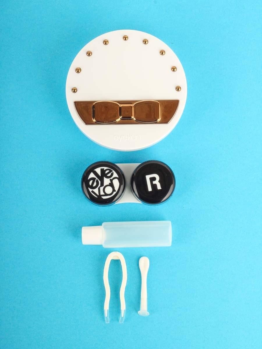 Контейнеры для контактных линз K1612 Белый