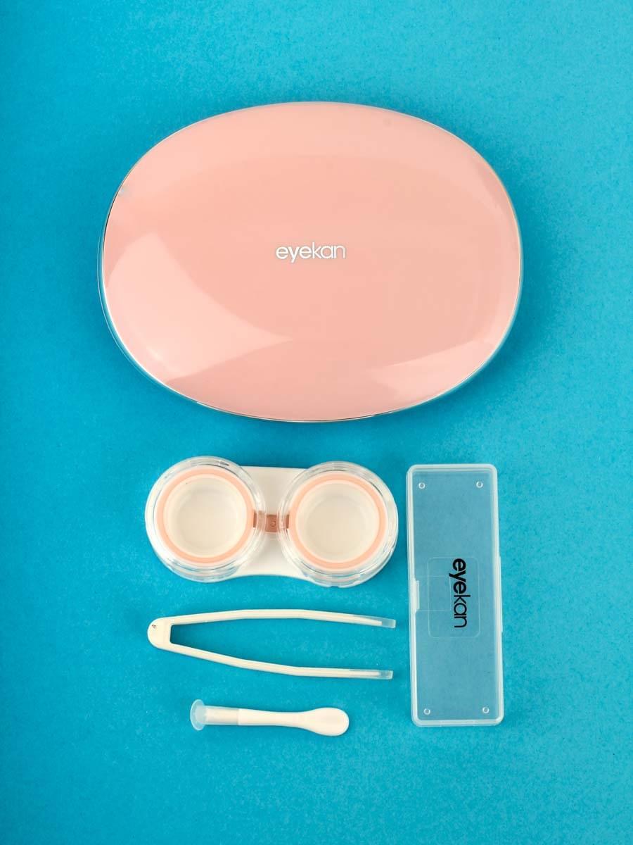 Контейнеры для контактных линз K1902 Розовые