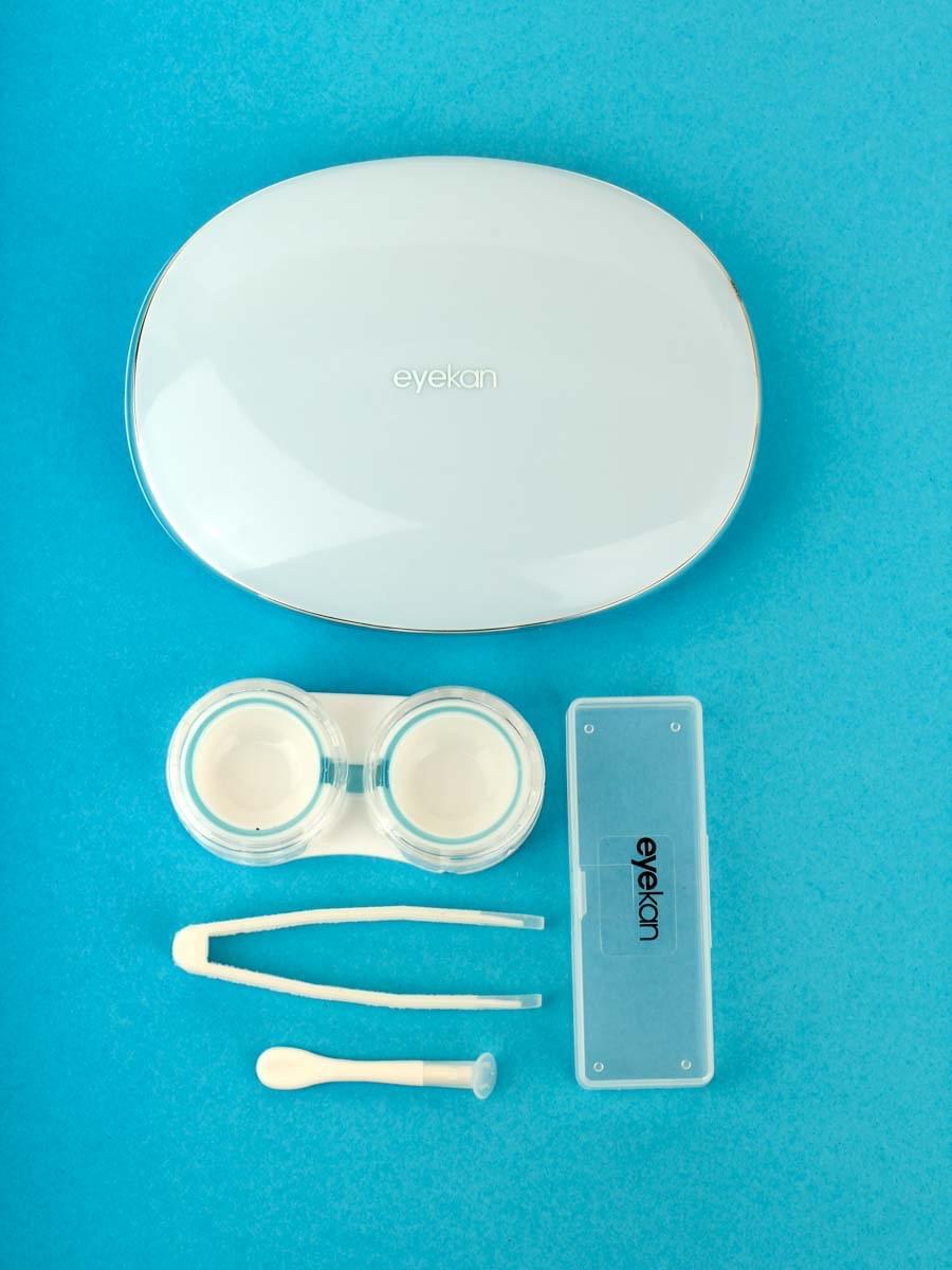 Контейнеры для контактных линз K1902 Голубой