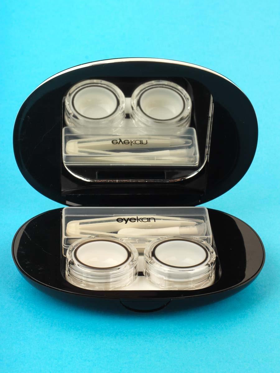 Контейнеры для контактных линз K1902 Черный