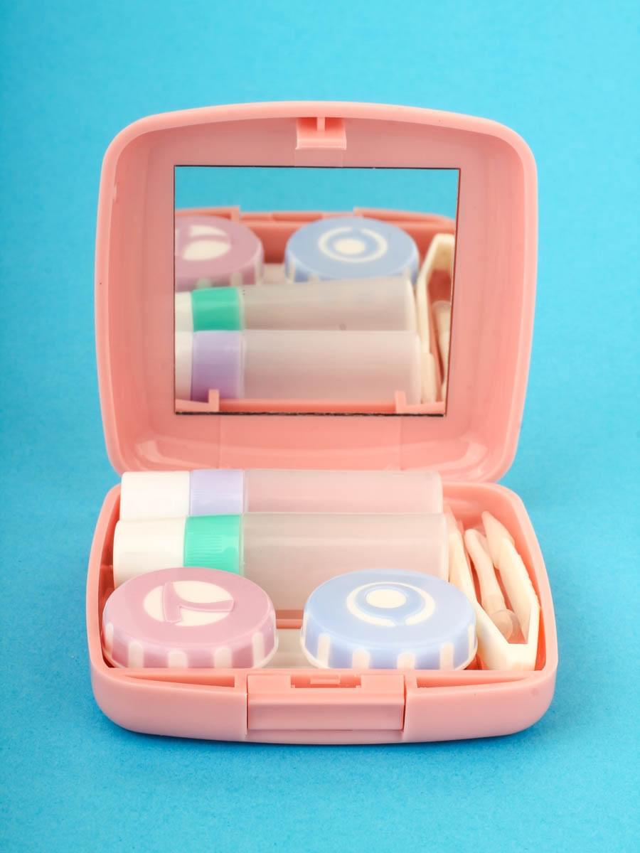 Контейнеры для контактных линз A-877 Розовые