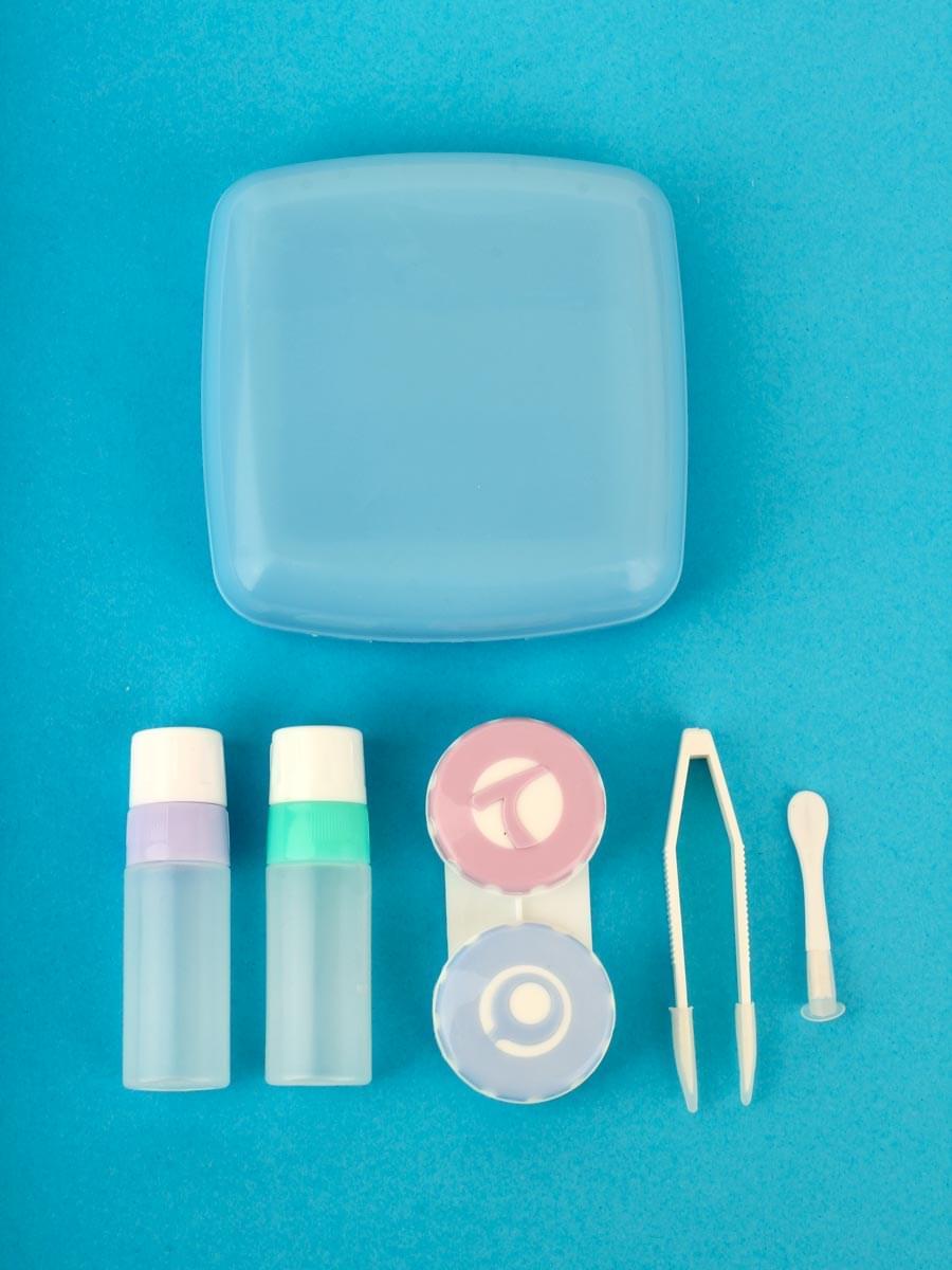 Контейнеры для контактных линз A-877 Синий