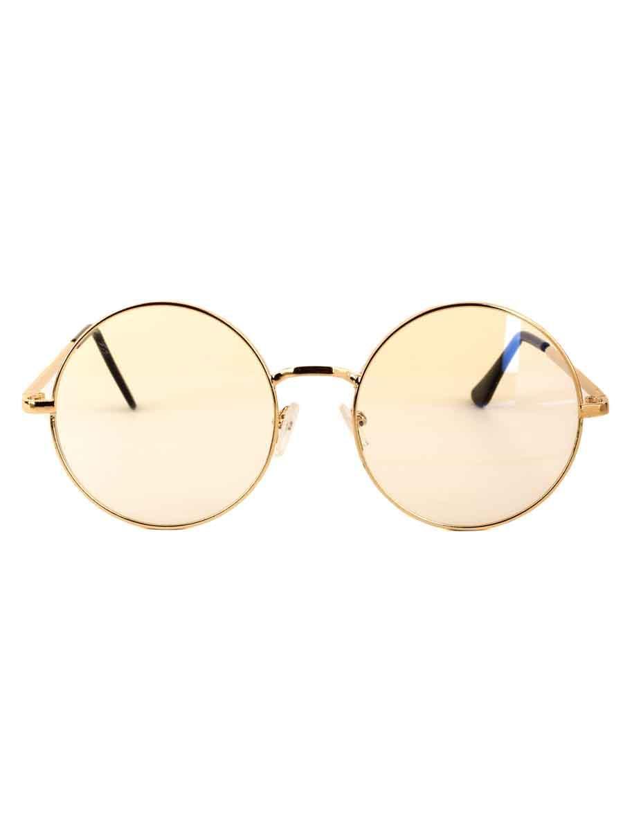 Компьютерные очки 019 Золотистые