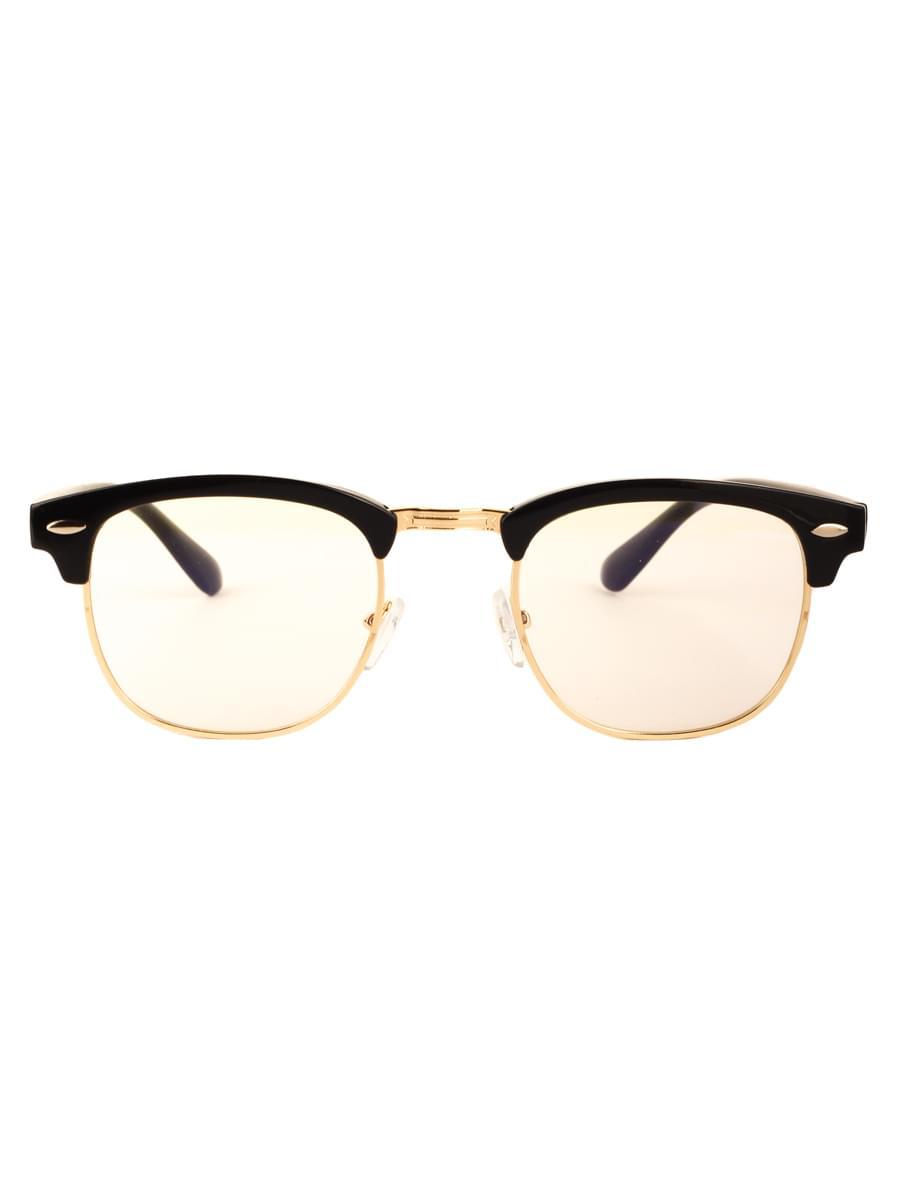 Компьютерные очки 3016 Черные Золотистые