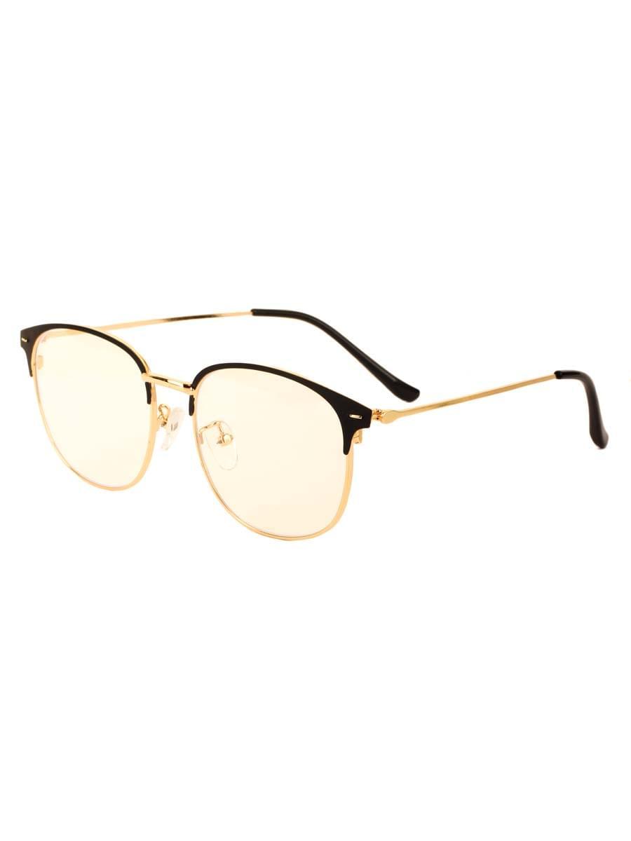 Компьютерные очки 5551 Черные Золотистые