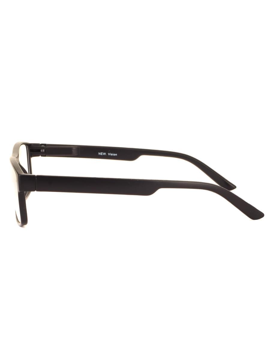 Готовые очки new vision 0639 BLACK-MATTE (-9.50)