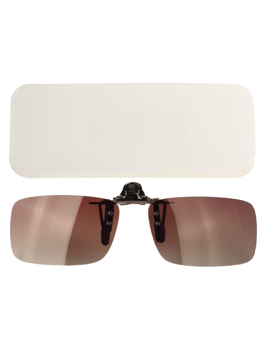 Насадки на очки в упаковке H3.0 Коричневые