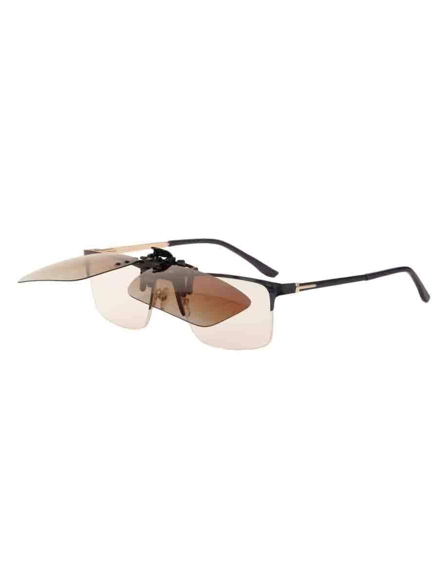 Насадки на очки в упаковке H4.0 Коричневые