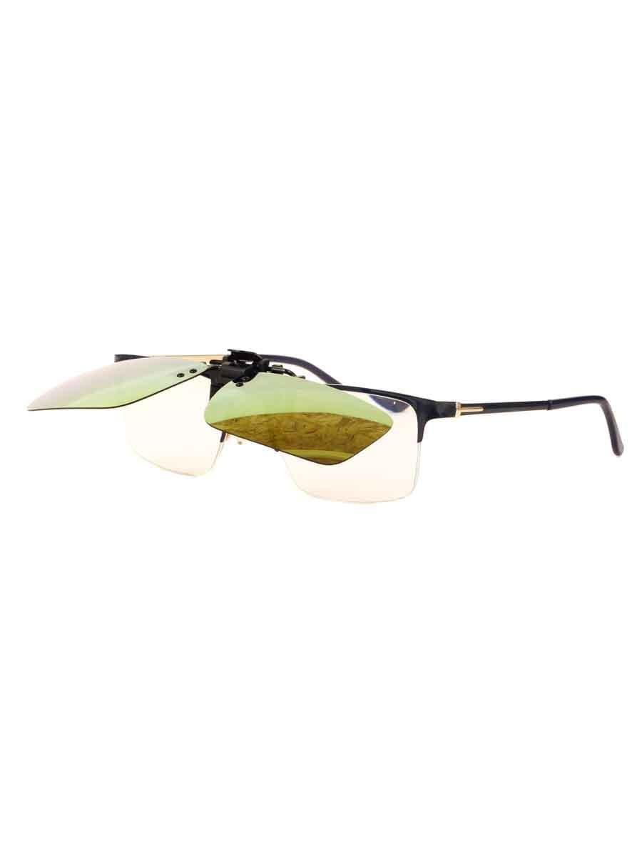 Насадки на очки в упаковке H4.0 Желтые зеркальные