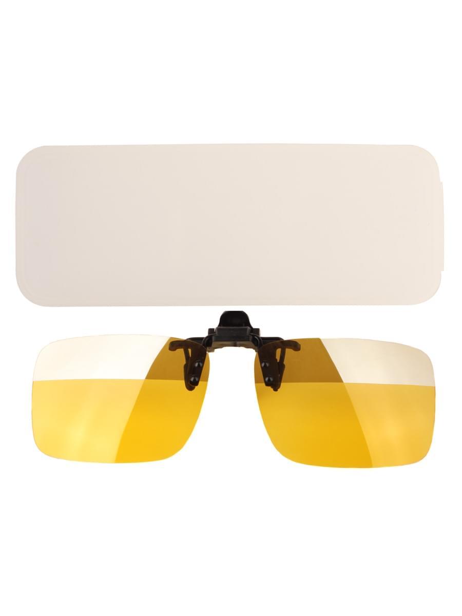 Насадки на очки в упаковке H4.0 Желтые зеркальная полоса