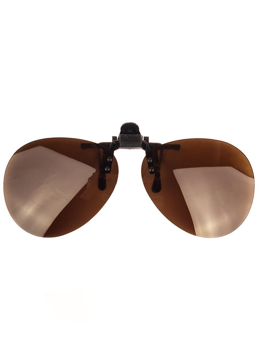 Насадки на очки H5.0 Коричневые