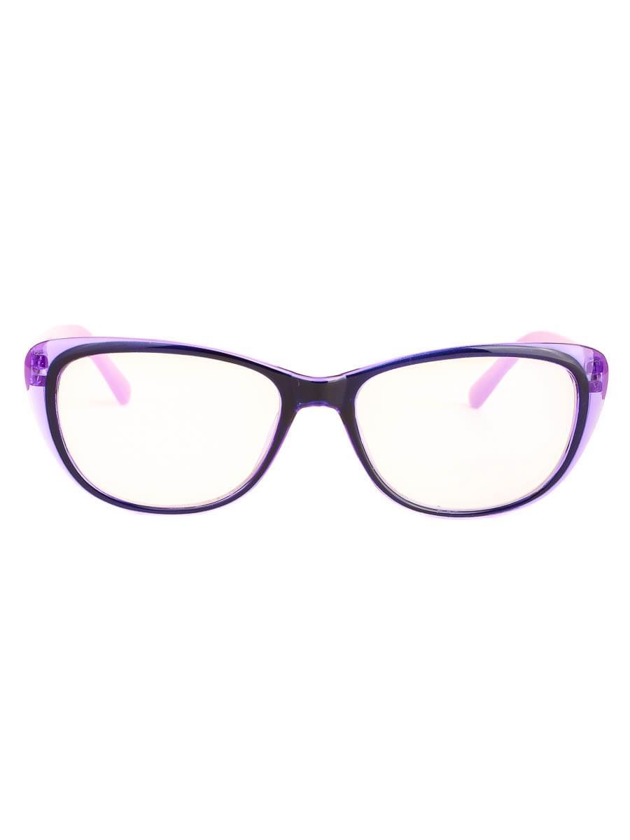 Компьютерные очки 3333 Черные-Фиолетовые