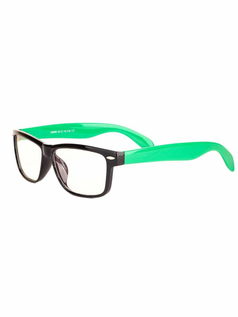 Компьютерные очки A3838 Черные-Зеленые