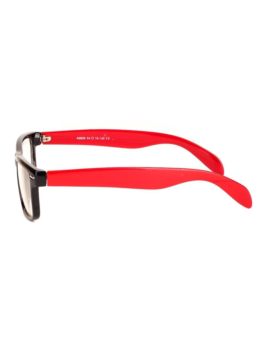 Компьютерные очки A3838 Черные-Красные