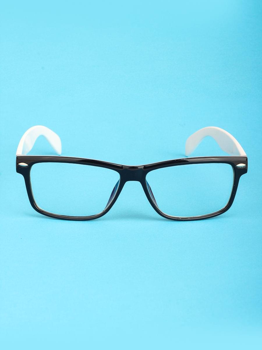 Компьютерные очки A3838 Черные-Белый