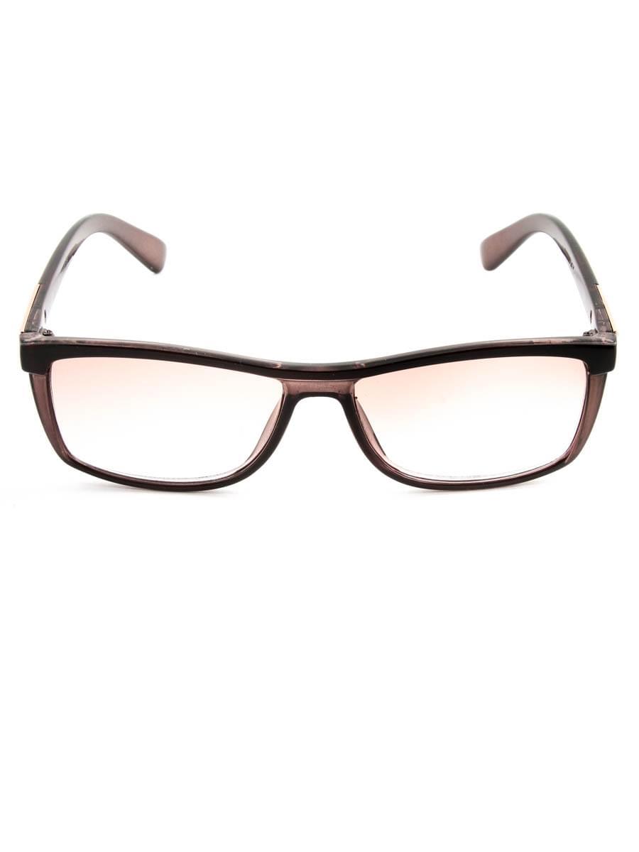 Готовые очки FARSI 2323 коричневый тонированные (-9.50)