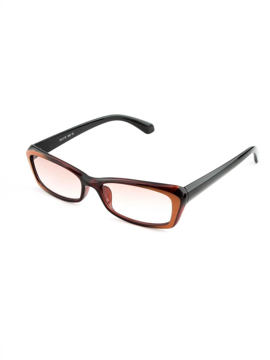 Готовые очки FARSI 3131 коричневый тонированные (-9.50)
