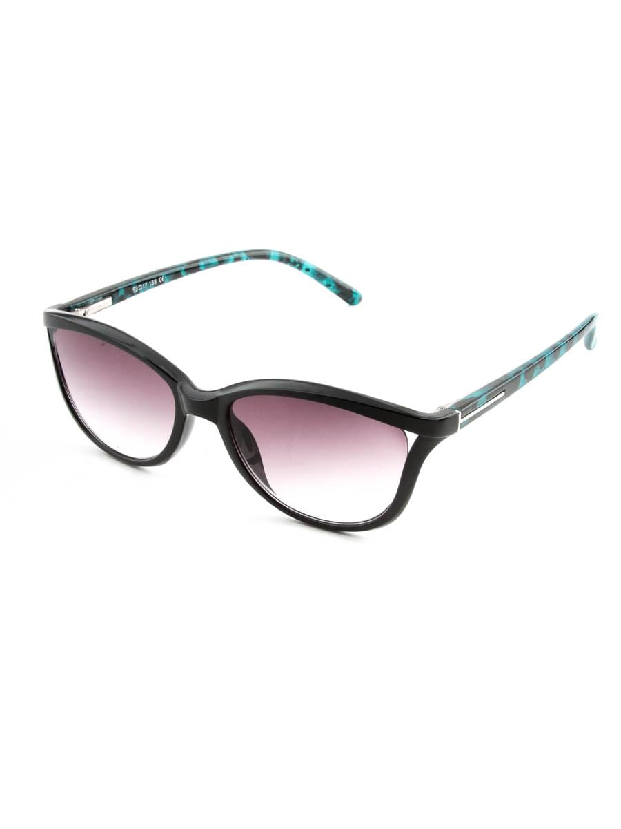 Готовые очки FARSI 4646 черный тонированные